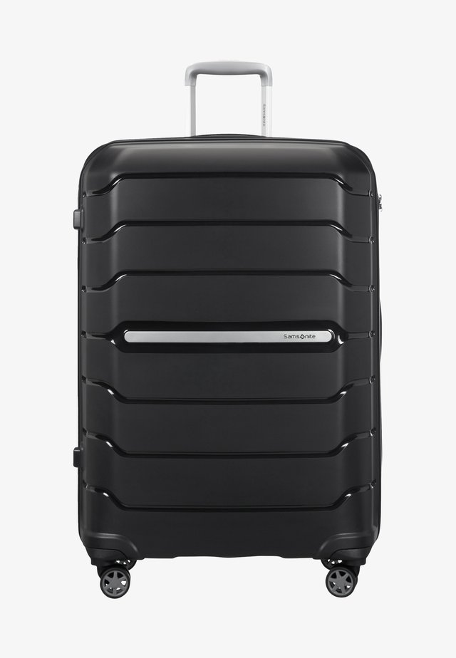 FLUX - Wheeled suitcase - black