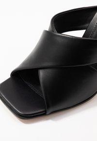 Topshop - SKYLA HIGH MULE - Pantolette hoch - black - 2