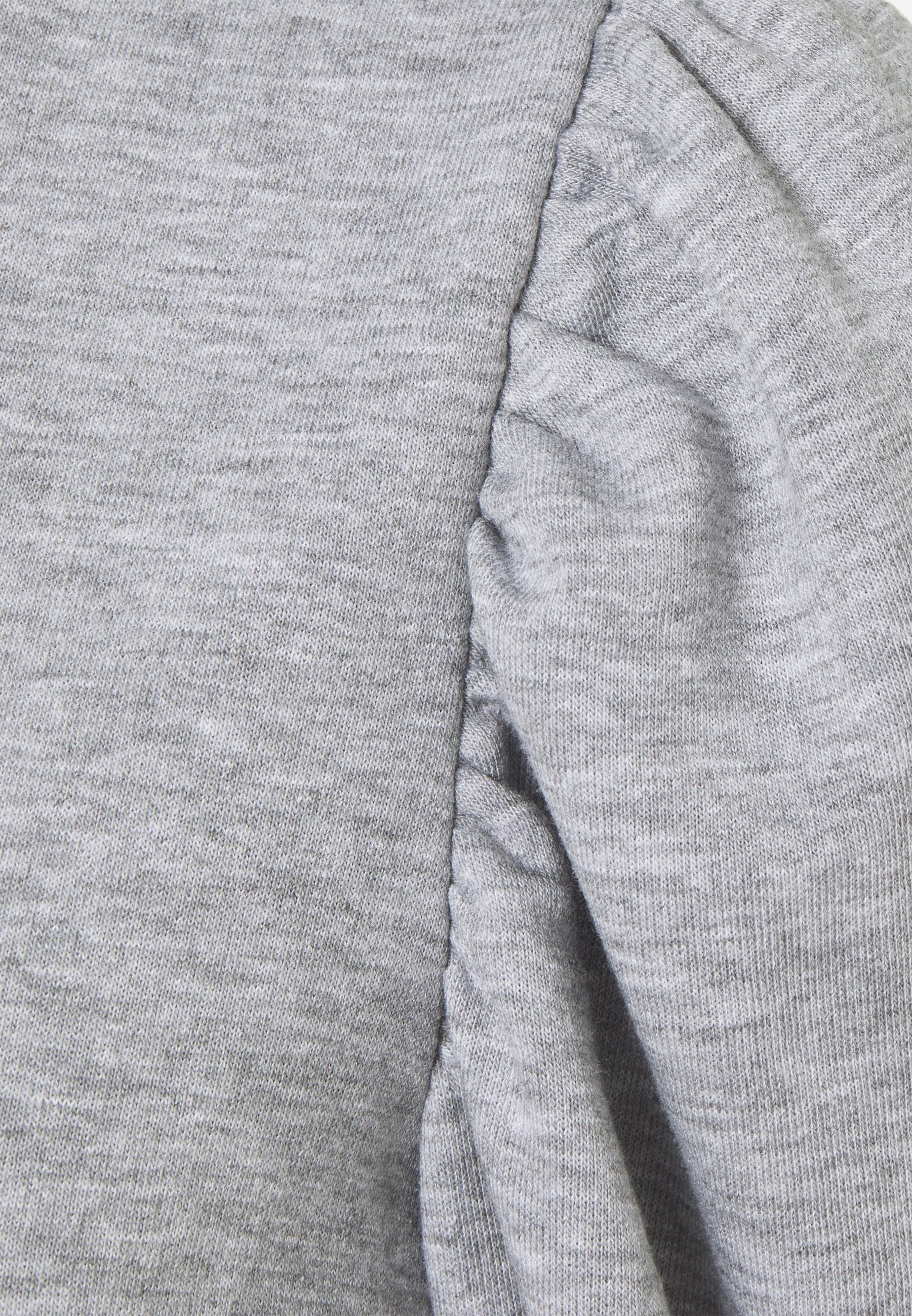 Object Petite Objmaja - Sweatshirt Light Grey Melange/lysgrå