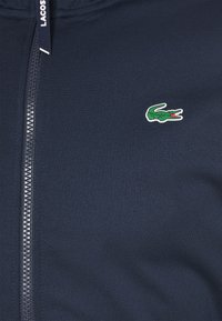Lacoste Sport - TENNIS JACKET - Veste de survêtement - navy blue/green - 2