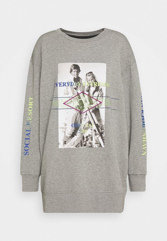 CREW - Sweatshirt - grey melange