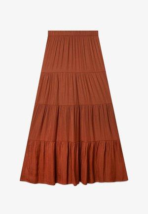 01336780 - Plisovaná sukně - brown