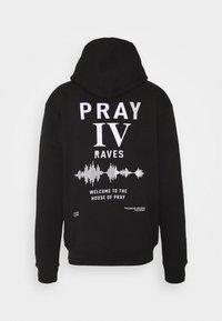 PRAY - RAVE HOOD UNISEX - Hoodie - black - 1