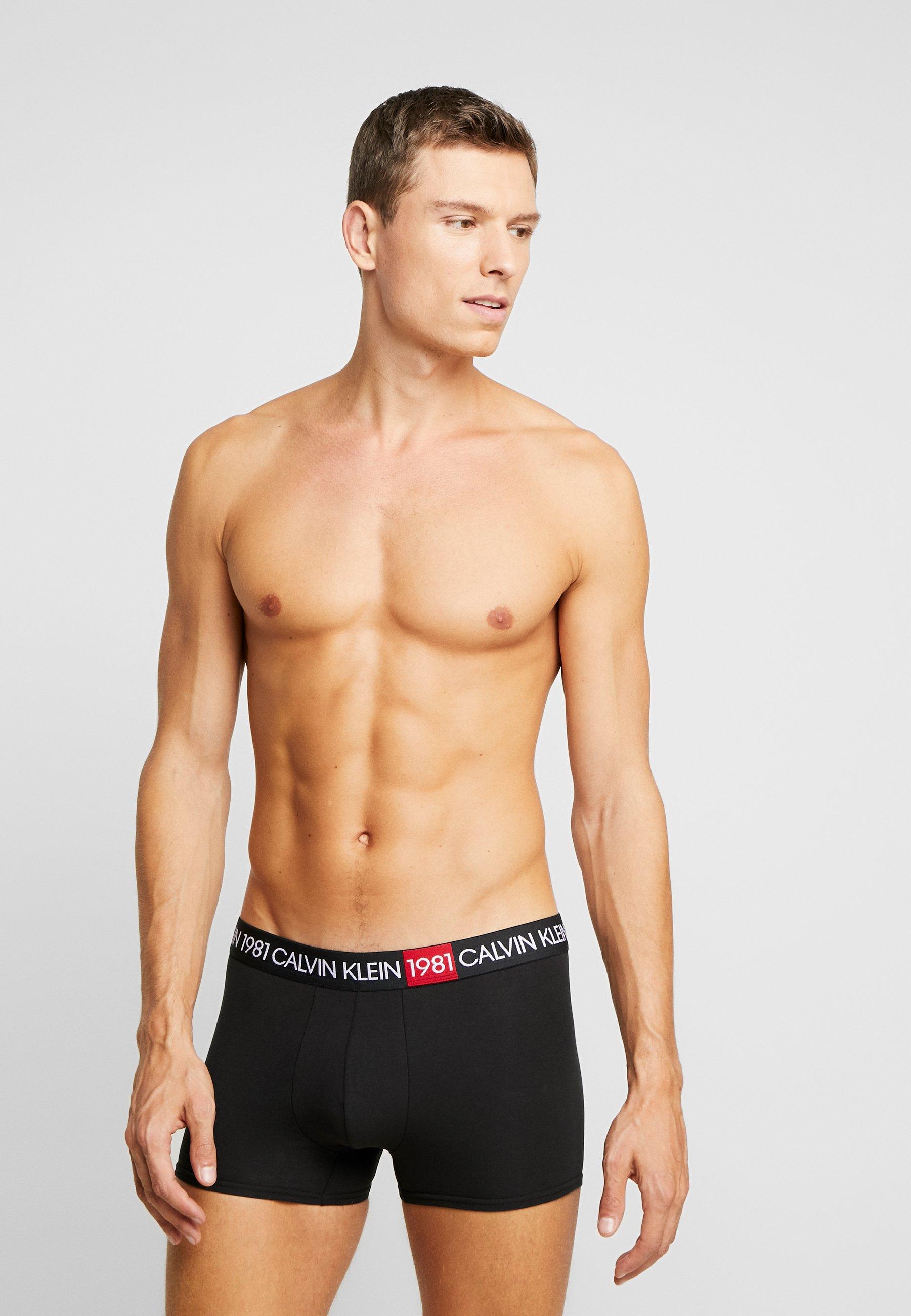Calvin Klein Underwear TRUNK - Underbukse - black
