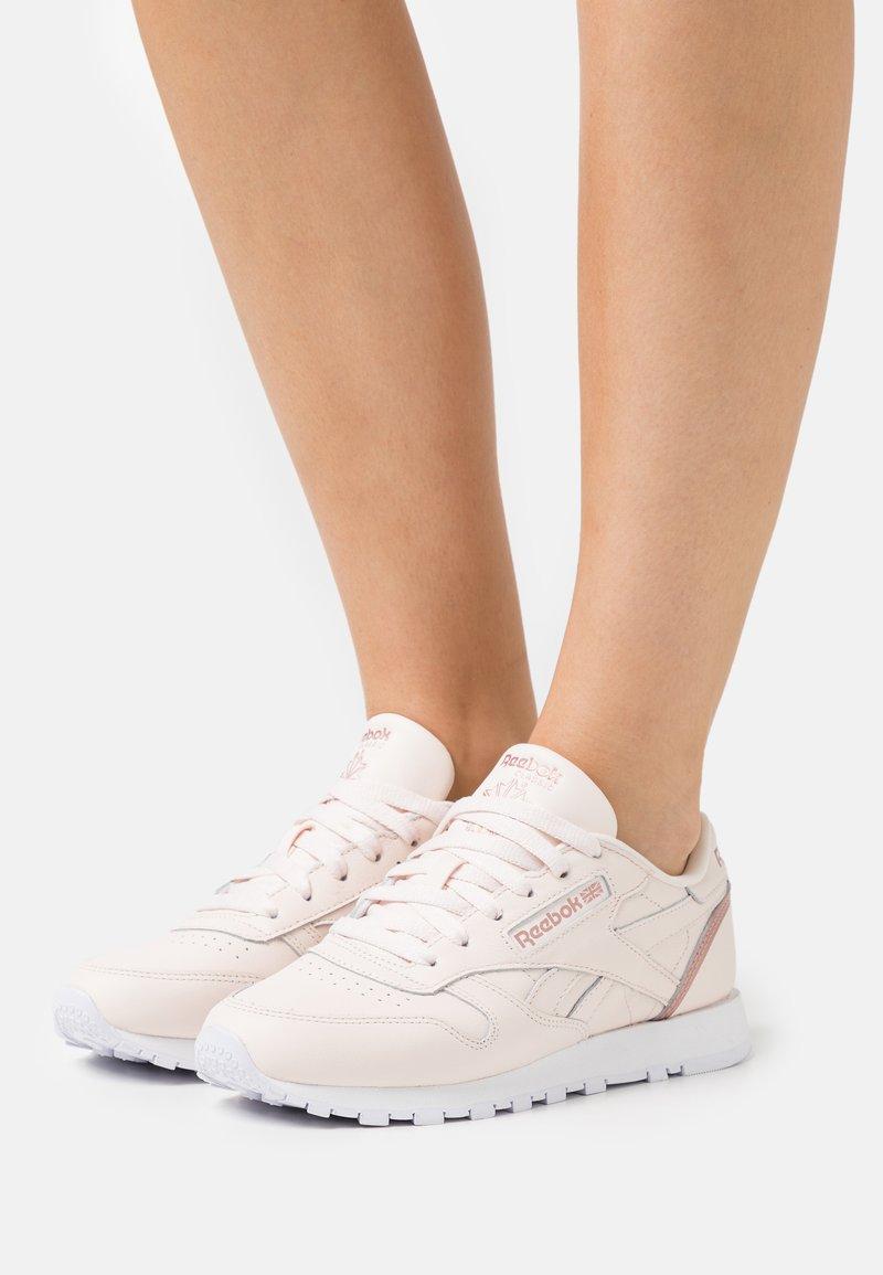 Reebok Classic - Trainers - cer pink/blush metallic/footwear white