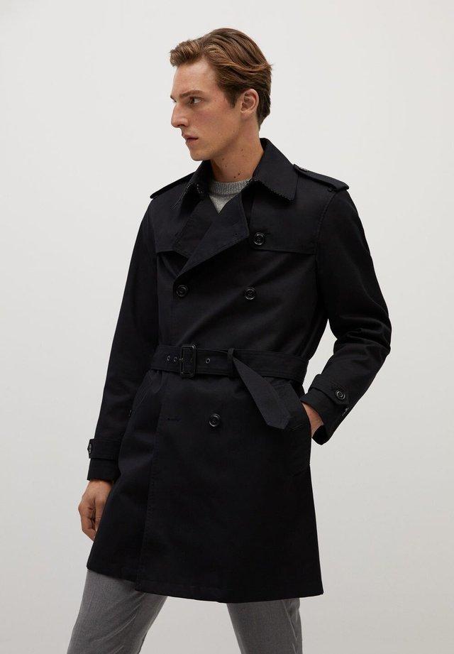 TANGO - Trenchcoats - schwarz