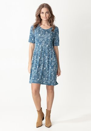 INDISKA TUNIC NICOLINA - Jersey dress - blue