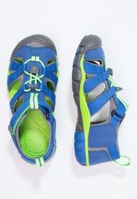 Keen - SEACAMP II CNX - Walking sandals - true blue/jasmine green - 1