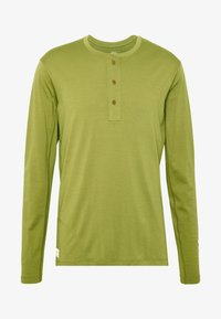 Norrøna - SVALBARD GRANDPA SHIRT - Long sleeved top - olive drab - 3
