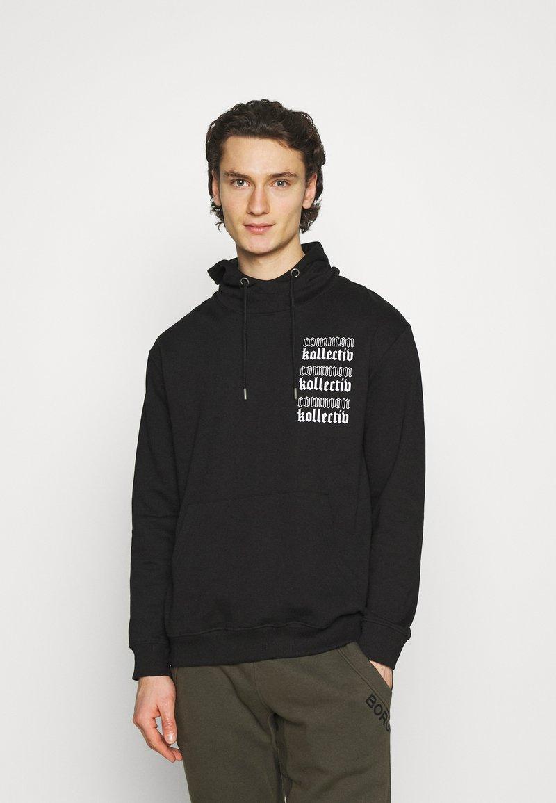 Common Kollectiv - GOTHIC HOOD UNISEX  - Hoodie - black