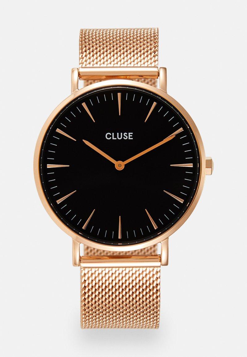 Cluse - BOHO CHIC - Zegarek - rose gold-coloured/black
