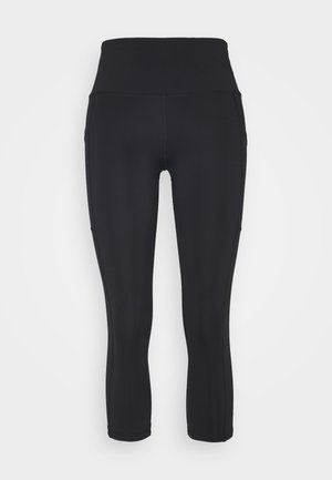 OH MY SQUAT CAPRI - Tights - black