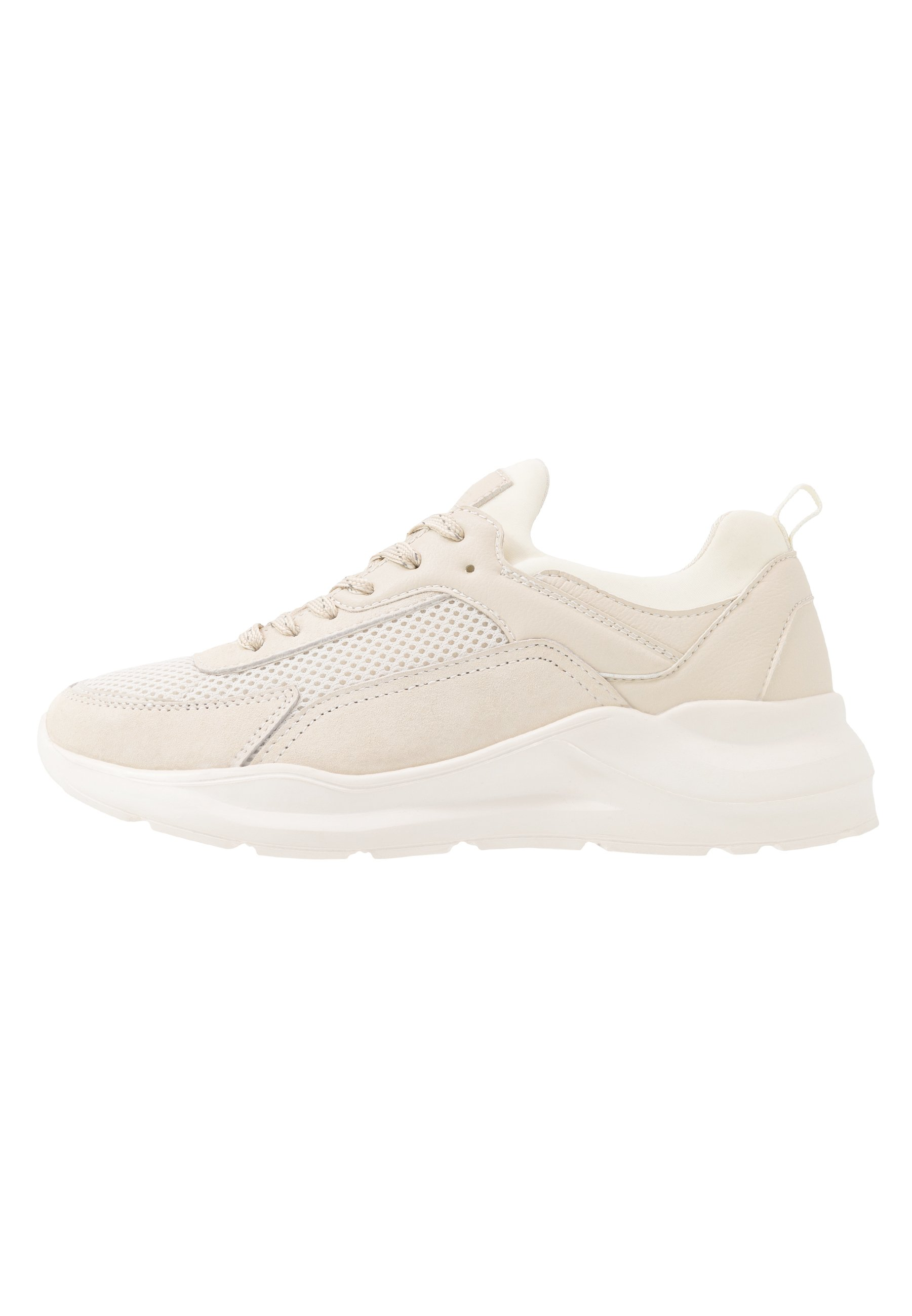 Anna Field Leather - Trainers Beige