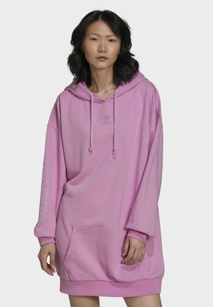 HOODIE DRESS - Vestido informal - purple