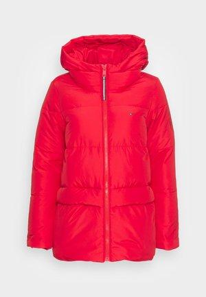 SORONA PADDED LOGO COAT - Veste d'hiver - primary red