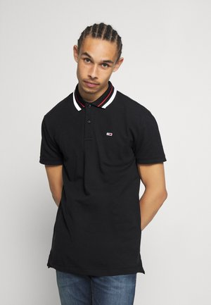 CLASSICS TIPPED - Polo shirt - black