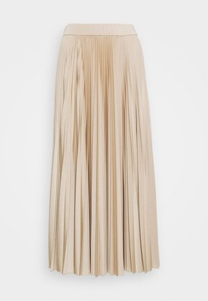 TRINCEA - Pleated skirt - beige