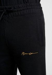 Mennace - REGULAR SIGNATURE  - Tracksuit bottoms - black - 3