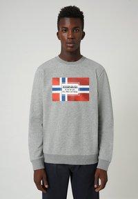 Napapijri - BERA  - Sweatshirt - grey - 0