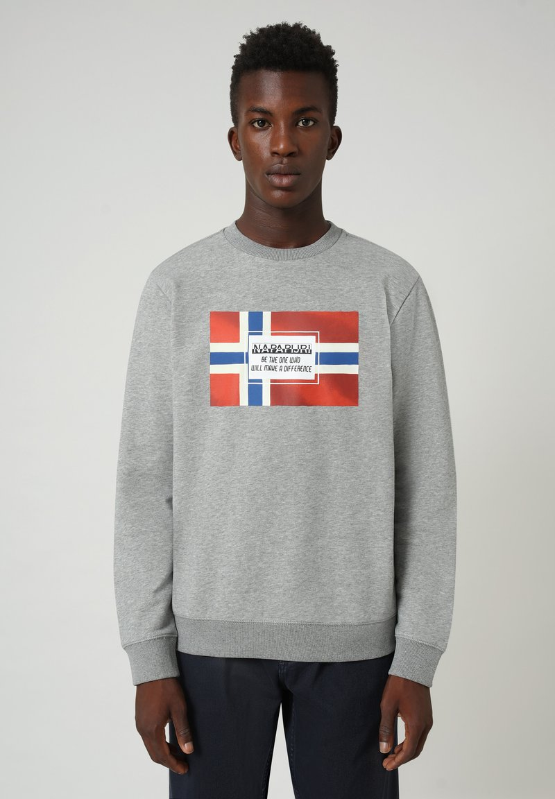 Napapijri - BERA  - Sweatshirt - grey