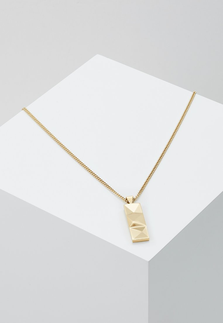 Northskull - OUT TAG NECKLACE - Ketting - yellow gold-coloured