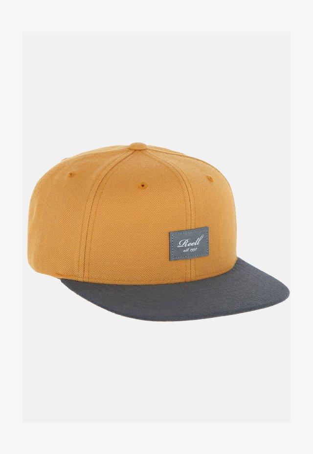 Cap -  yellow brown