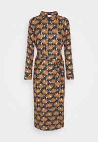 Vila - VIZINO MIDI DRESS - Shirt dress - navy blazer - 6