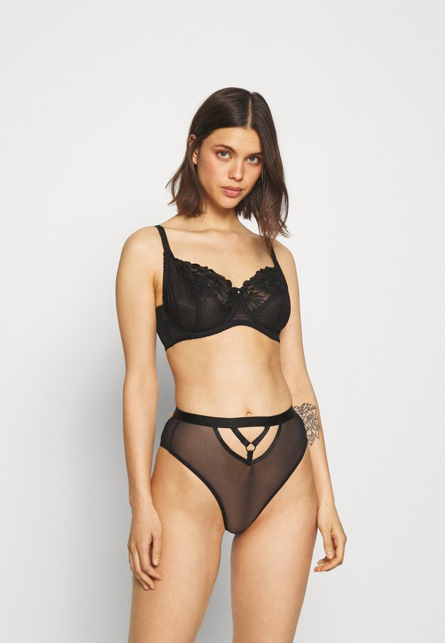 EVERY NIGHT CUT OUT BRAZILIAN - String - black