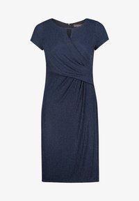 Vera Mont - Shift dress - dark blue/dark blue - 2
