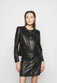 Iro - COMPLET  - Leather jacket - black - 0