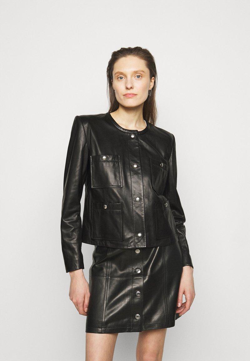 Iro - COMPLET  - Leather jacket - black
