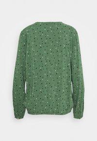 edc by Esprit - PRINT BLOUSE - Bluser - khaki green - 1