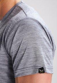 Salewa - PUEZ DRY TEE - T-shirt basic - quiet shade melange - 4