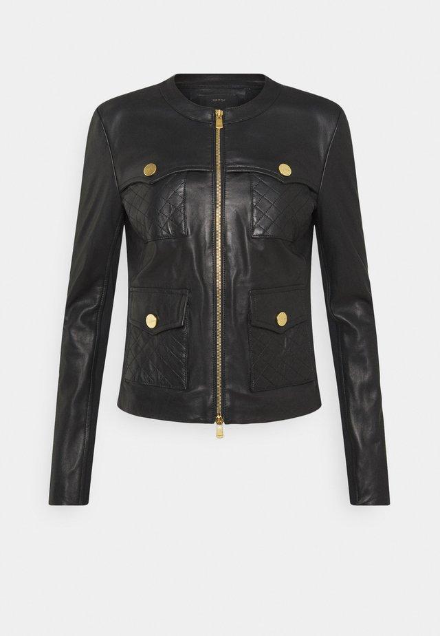OTTUSO - Leren jas - black