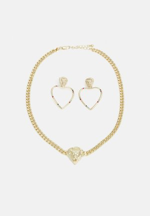 PCLIONHEART EARRINGS NECKLACE SET - Necklace - gold-coloured