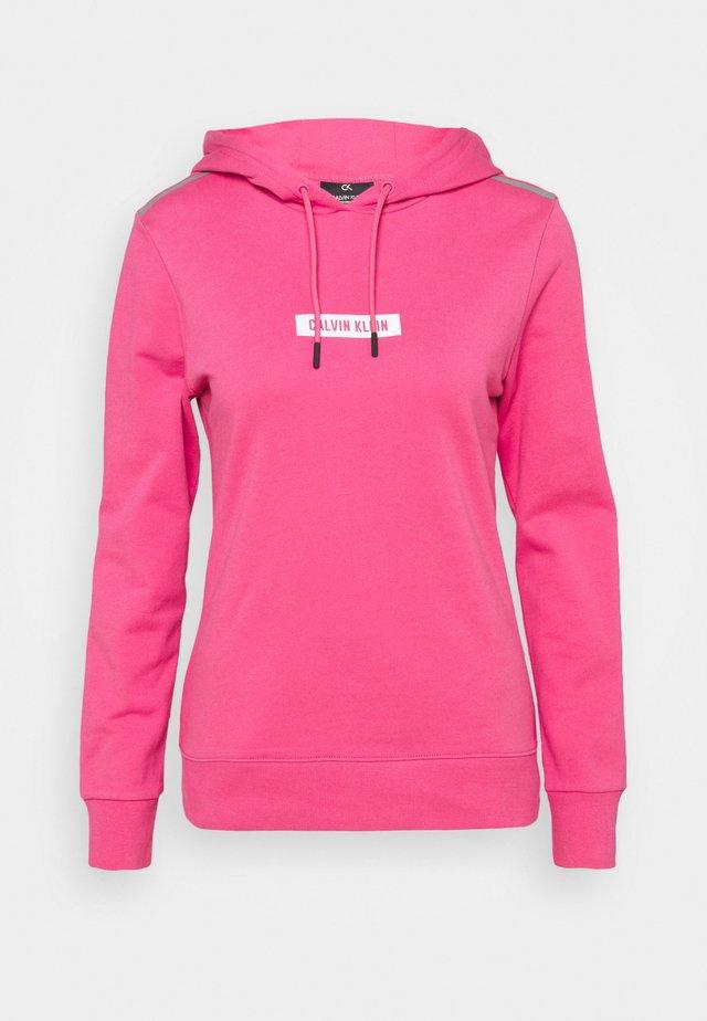 HOODIE - Mikina skapucí - pink