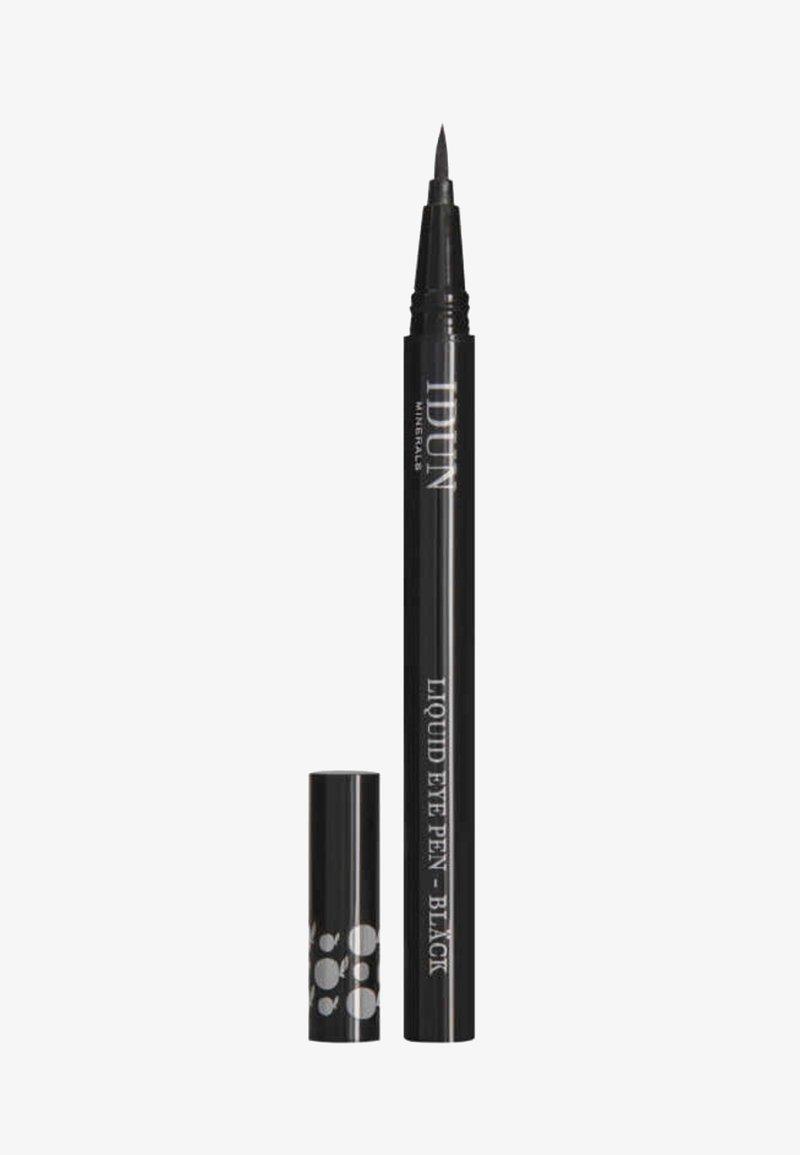 IDUN Minerals - EYELINER BLÄCK EYELINER PEN - Eyeliner - black