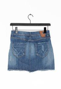 Gang - Spódnica jeansowa - blue - 1