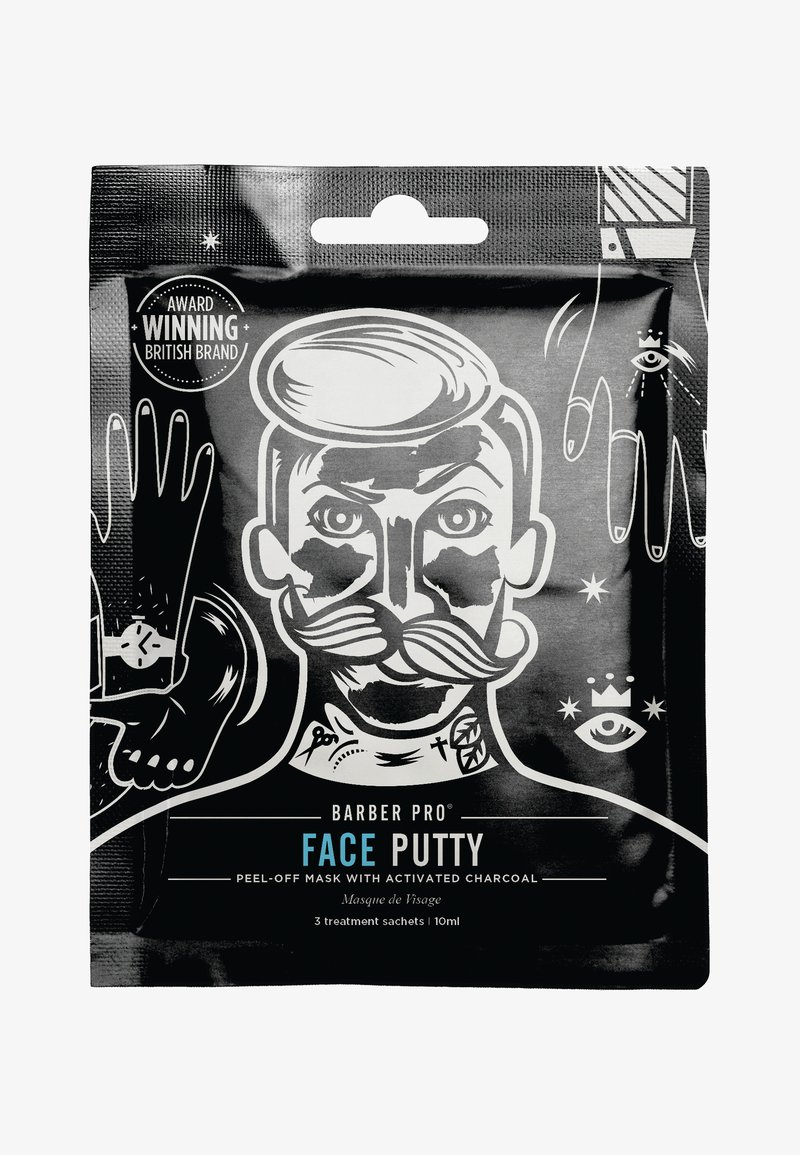 Barber Pro - FACE PUTTY 3 PACK - Maseczka - -
