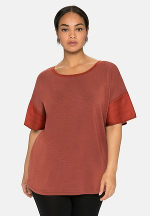 Basic T-shirt - marone
