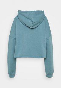 Missguided Tall - CROPPED HOODIE - Sweatshirt - light blue - 1