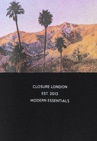 CLOSURE London - SUMMER PALM TEE - Print T-shirt - black - 2