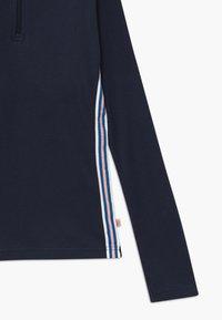 Lemon Beret - TEEN GIRLS - Long sleeved top - navy blazer - 2
