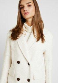 Topshop - KIM BOUCLE - Classic coat - ivory - 4