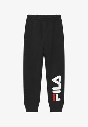 PATRIZIA LOGO UNISEX - Spodnie treningowe - black