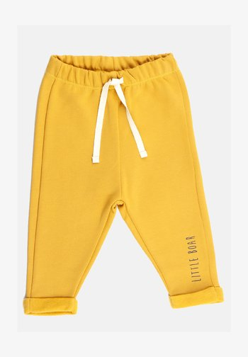 Tracksuit bottoms - yellow mellow
