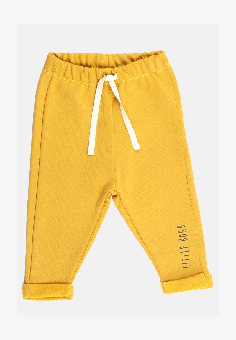 Little Boar - Tracksuit bottoms - yellow mellow