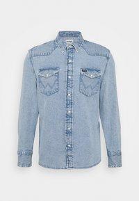 Wrangler - Shirt - light-blue denim - 3
