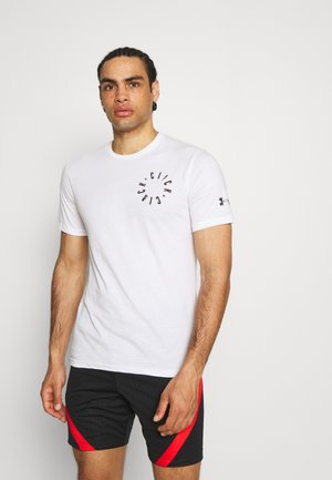 CLICK CLACK IS BACK - T-shirt imprimé - white/black