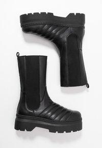 Pavement - FLORA - Platåstøvler - black - 3